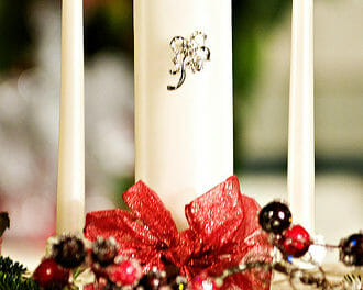 Personalized Unity Candles: When Two Become One
