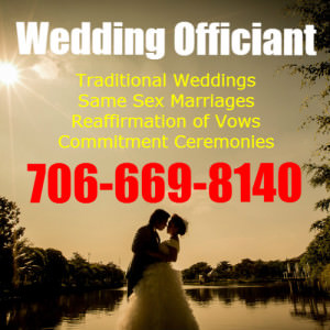 Wedding Officiant in Blue Ridge Georgia