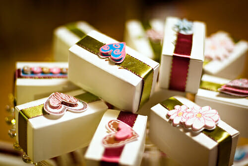 Wedding Favors With A Difference